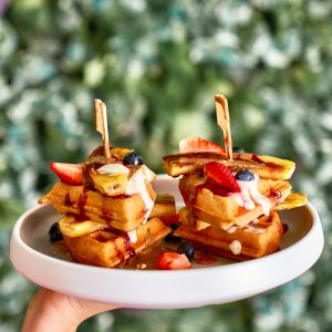 KIN Vegan Waffles (PB, GF)