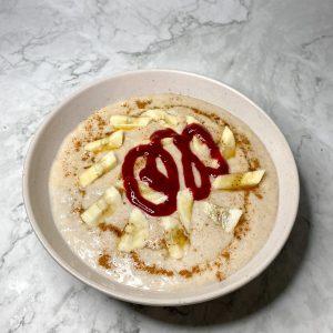 Vegan Oat Porridge (GF, PB)